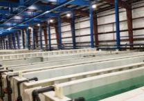Pries Enterprises' new anodizing line